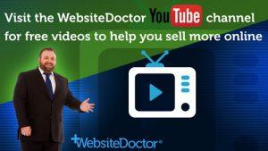 WebsiteDoctor YouTube channel