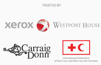 WebsiteDoctor clients include Xerox, Westport House, Carraig Donn and the IFRC. Services rendered included website consultancy, professional website review, software and website development