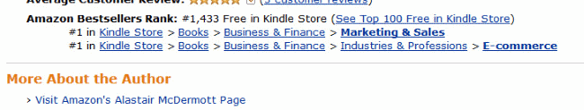 Running a Website with WordPress: A Quick Guide for Business Owners currently ranked #1 in its category on Amazon Kindle and is free for the next 24 hours